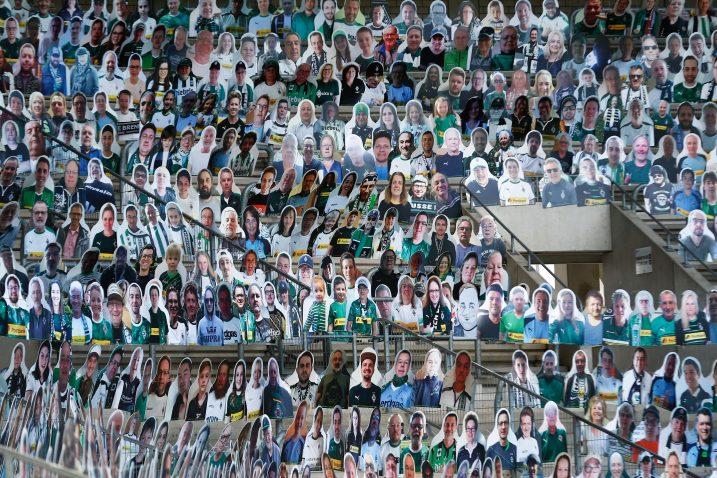 Ovako izgledaju tribine stadiona Borussije Moenchengladbach/Foto REUTERS