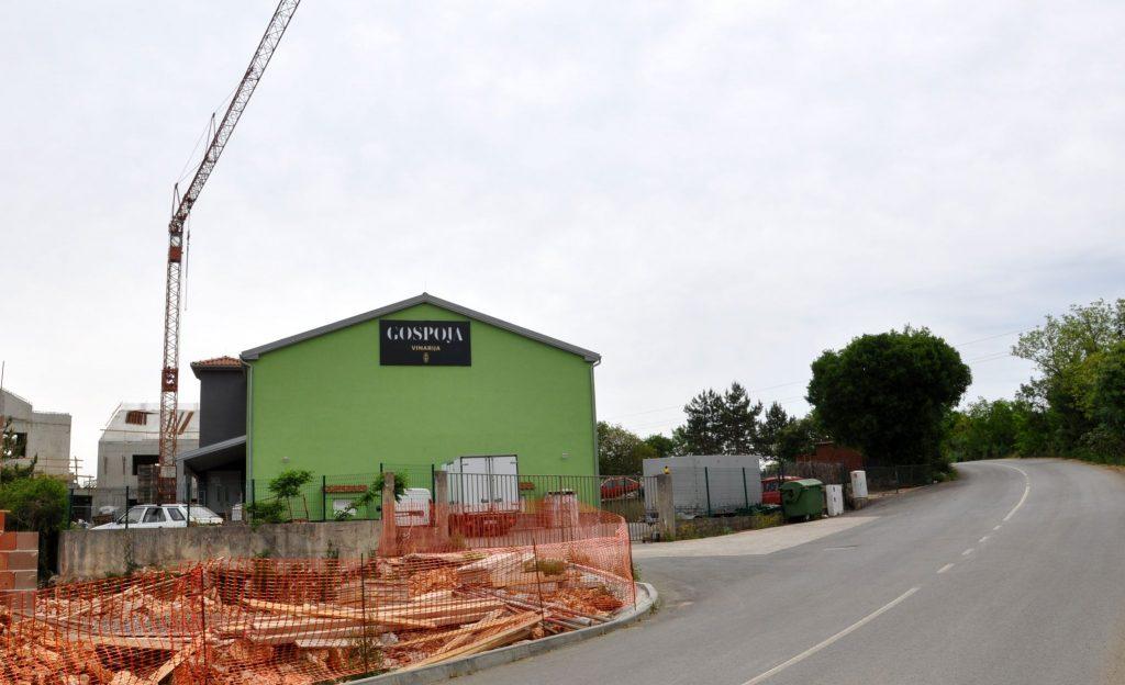 Nesreća se dogodila sega stotinu metara od Toljanićeve vinarije Gospoja / Snimio Mladen TRINAJSTIĆ