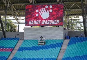 Otužna slika s njemačkih stadiona/Foto REUTERS