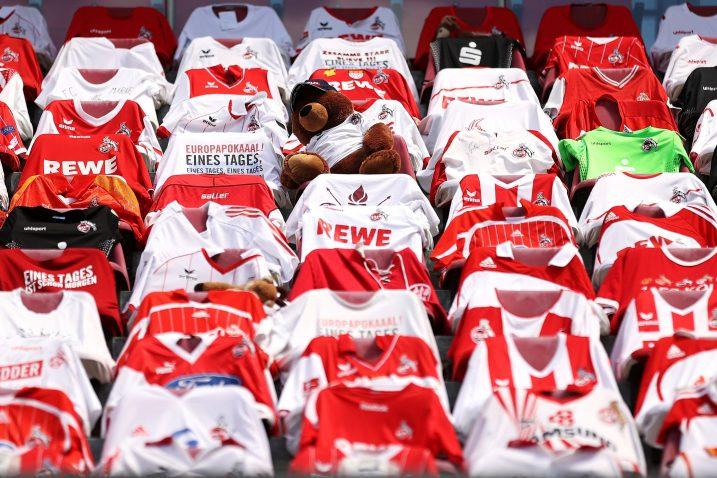 Ovako su izgledale tribine Kolnova stadiona tijekom utakmice s Mainzom/Foto REUTERS