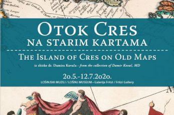 Otok Cres na starim kartama
