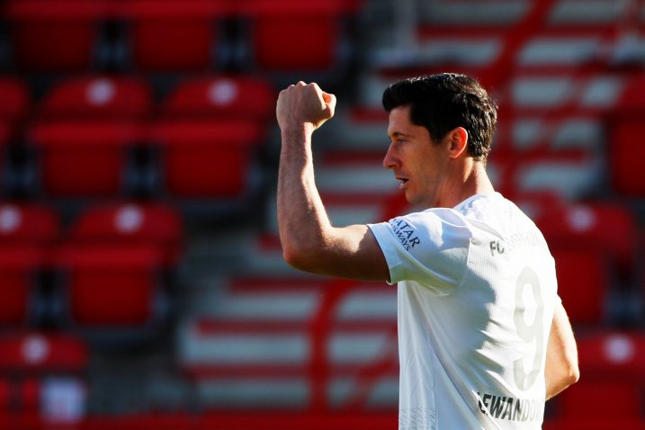 Robert Lewandowski protiv Mainza je postigao 40. pogodak ove sezone/Foto REUTERS