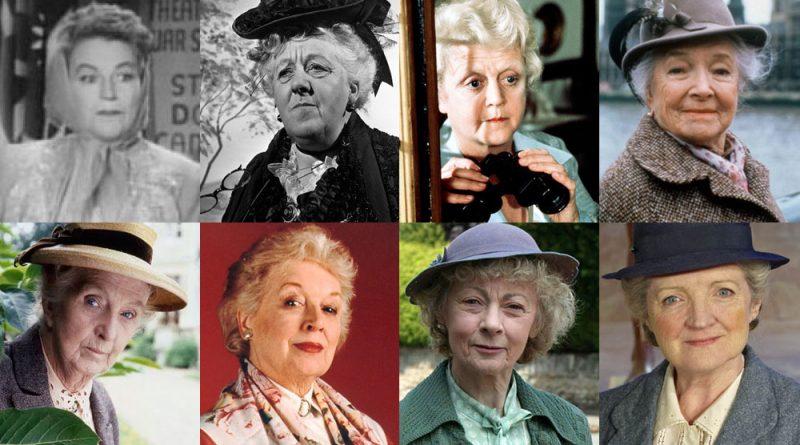 Razne glumice koje su utjelovile gospođicu Marple
