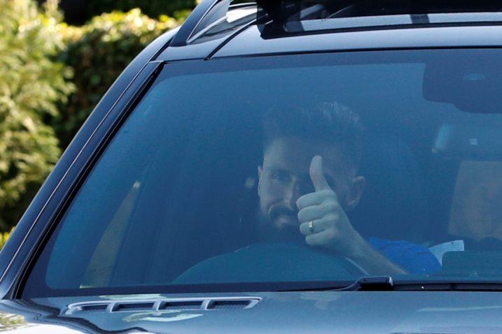 Olivier Giroud, francuski napadač u redovima Londončana/Foto REUTERS