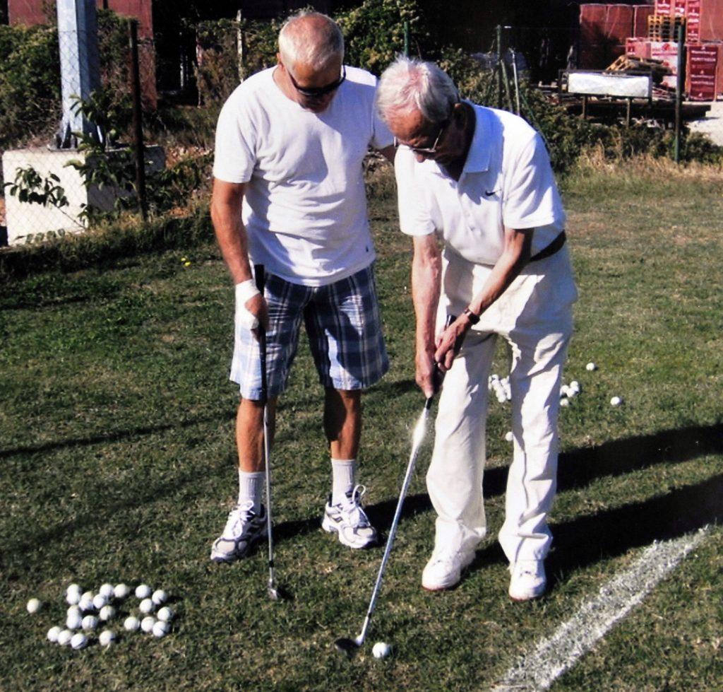 Šjor Toni je volio i golf