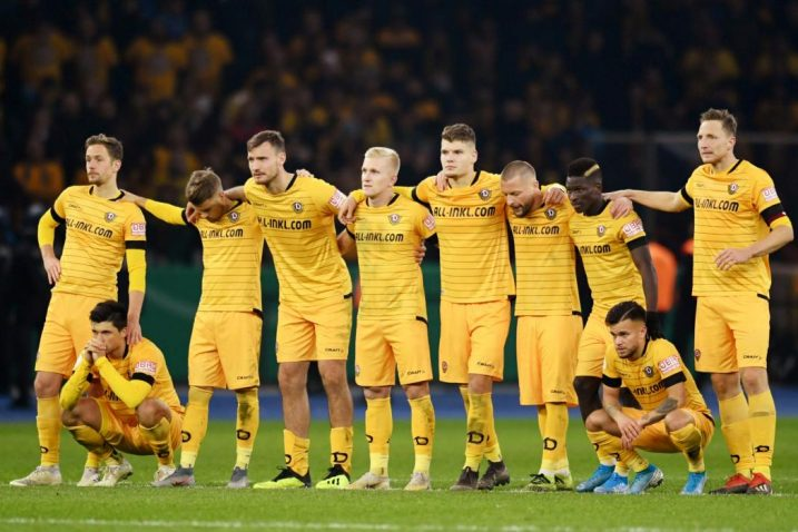 Igrači Dynamo Dresdena/Foto REUTERS