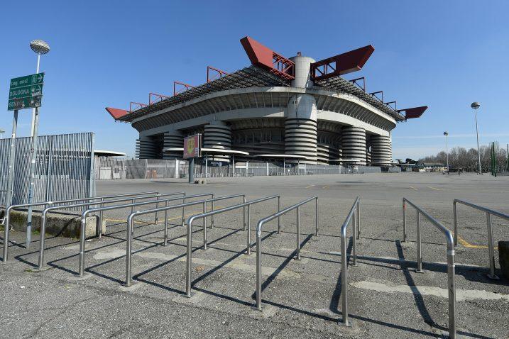 Stadion San Siro ili Giuseppe Meazza na kojem domaće utakmice igraju Milan i Inter/Foto REUTERS