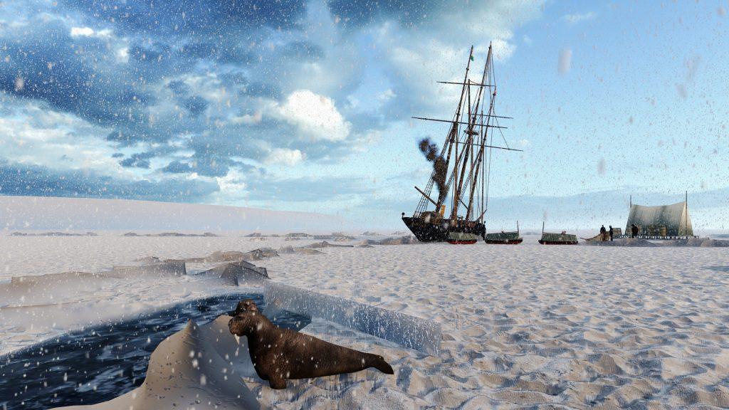 I plovili su okovani santom leda više od dvije godine