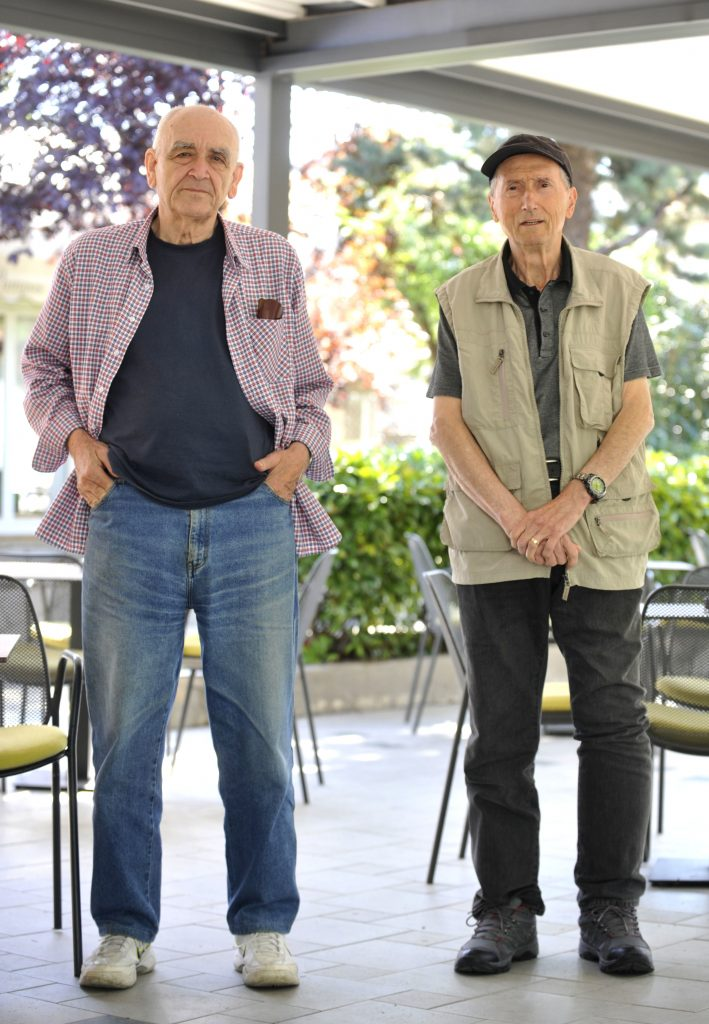 Čedomir Salević i Miloš Oluić / Foto: V. KARUZA