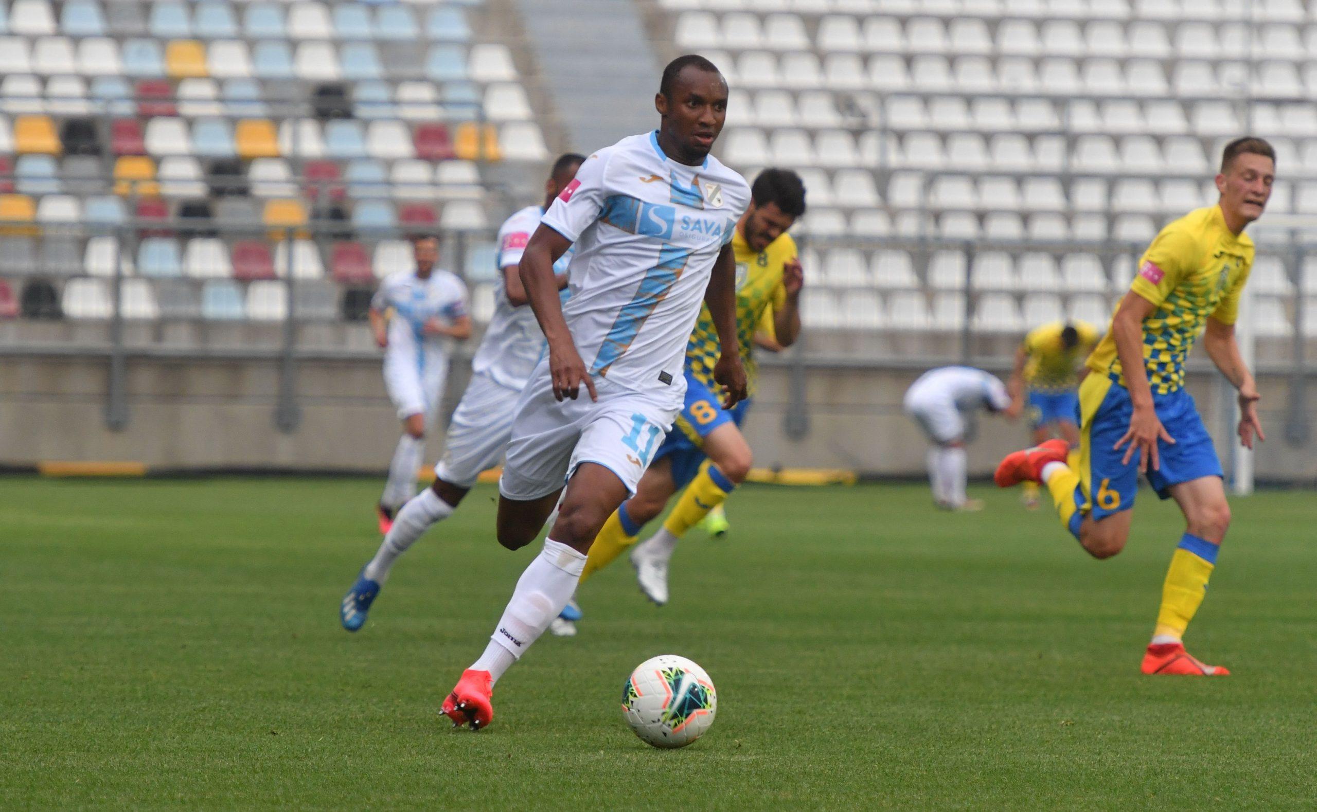 Sterling Yateke poentirao je u prijateljskoj utakmici protiv Intera/Foto hnk-rijeka.hr