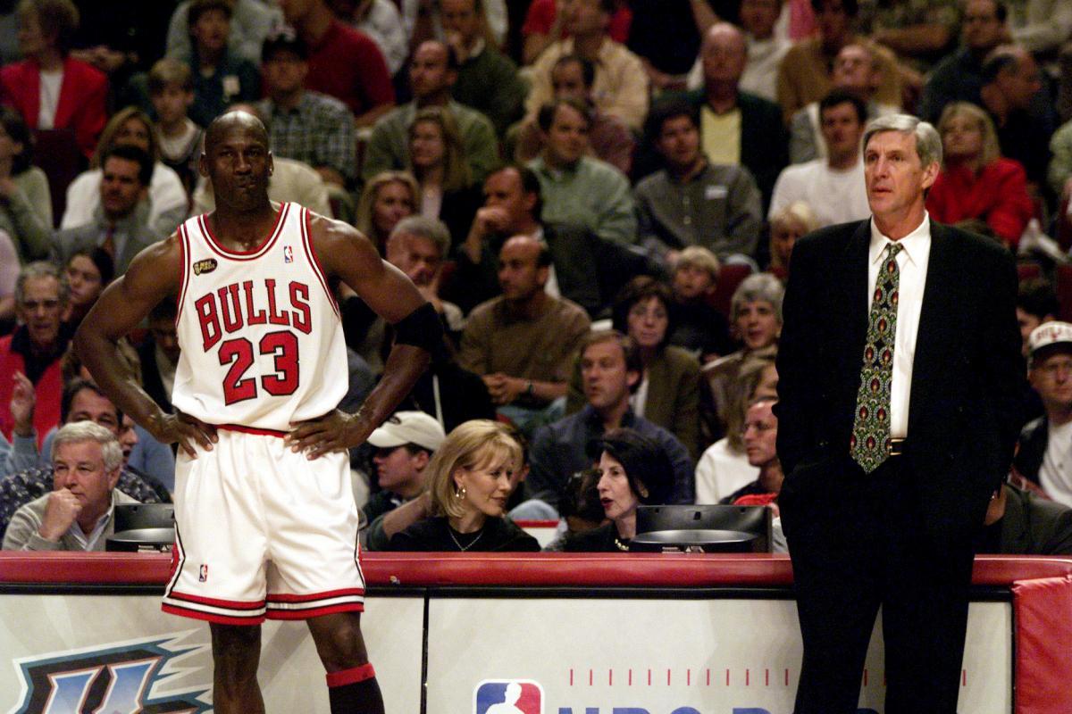 Michael Jordan i Jerry Sloan/Foto USA TODAY Sports
