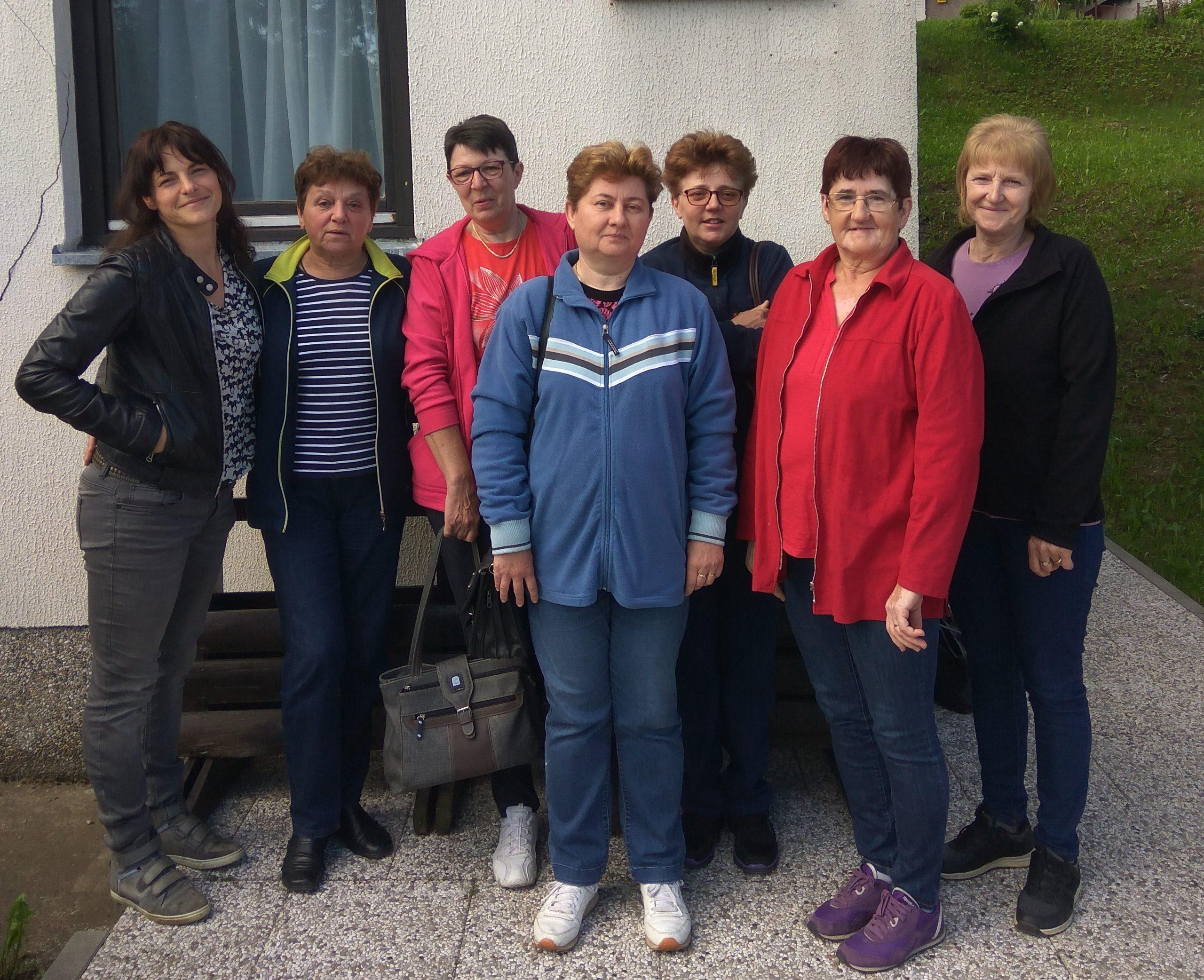 Ekipa skradskog programa Zaželi / Snimio Marinko KRMPOTIĆ