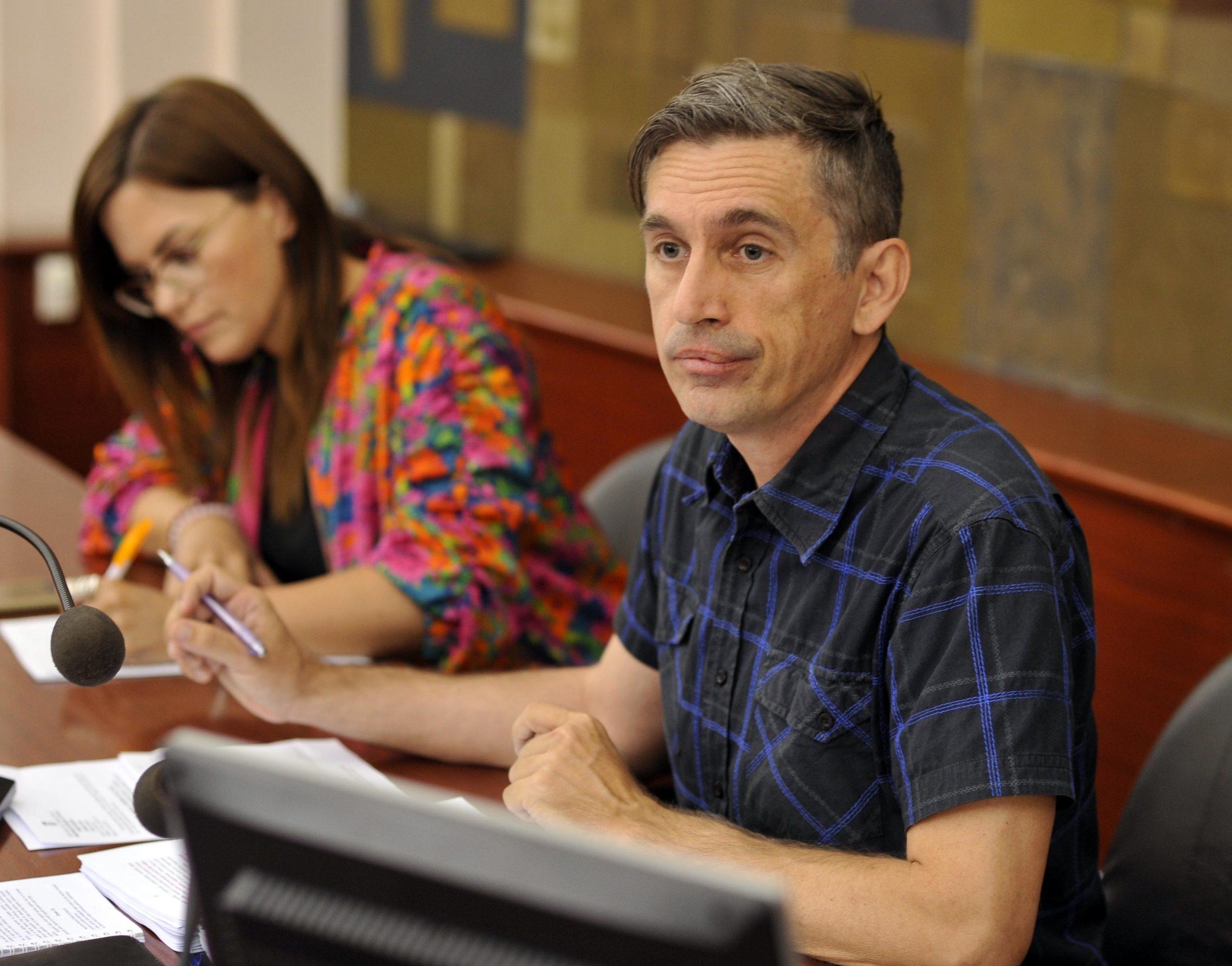 Zvonimir Peranić, predsjednik Odbora / Snimio Damir ŠKOMRLJ