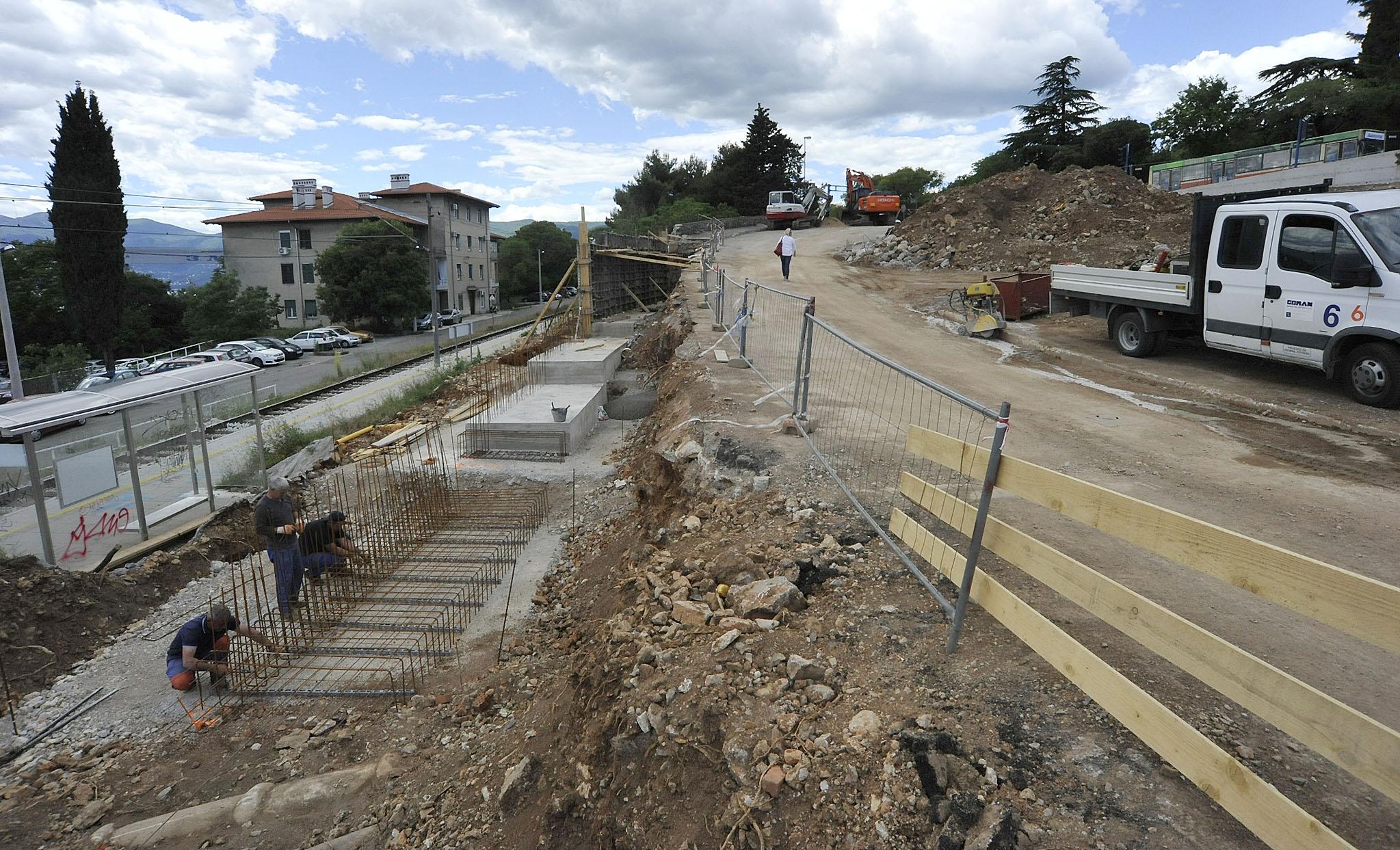 Izgradnja rpometnice U1: Radi se od veljače, punom parom / Foto S. DRECHSLER