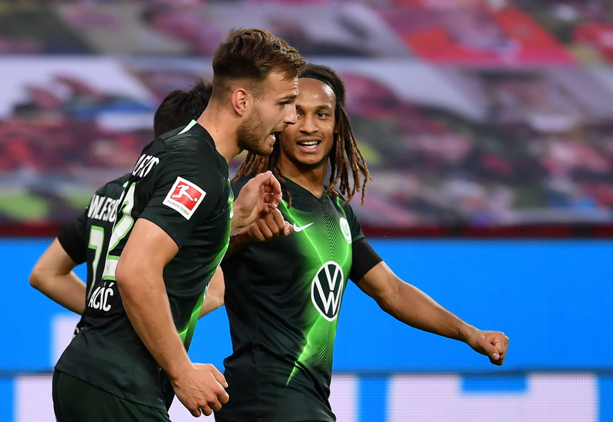 Marin Pongračić postigao je svoje prve golove u dresu Wolfsburga/Foto REUTERS
