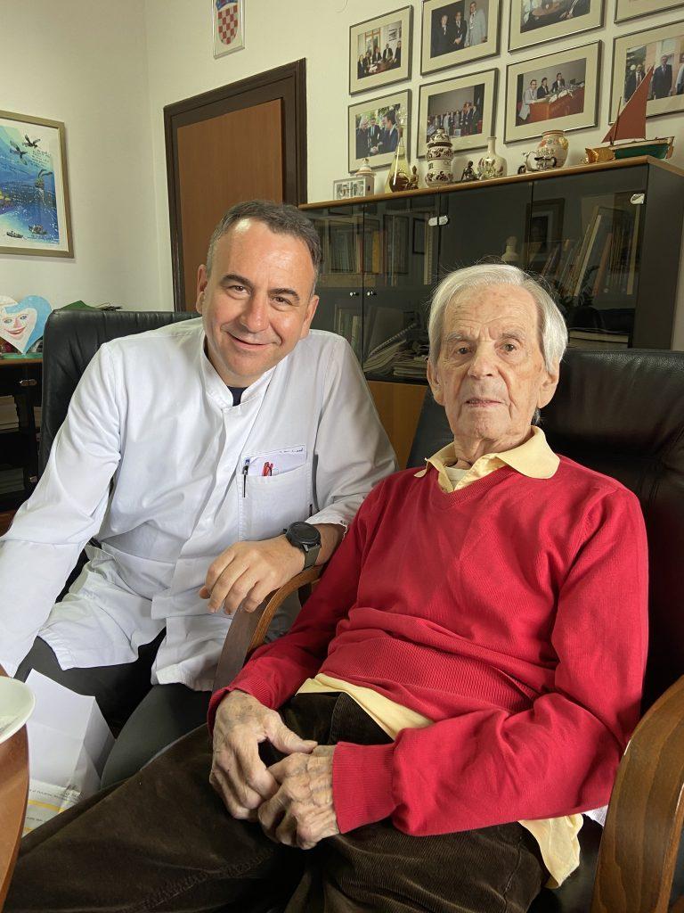 S Viktorom Peršićem, ravnateljem Thalassotherapije Opatija