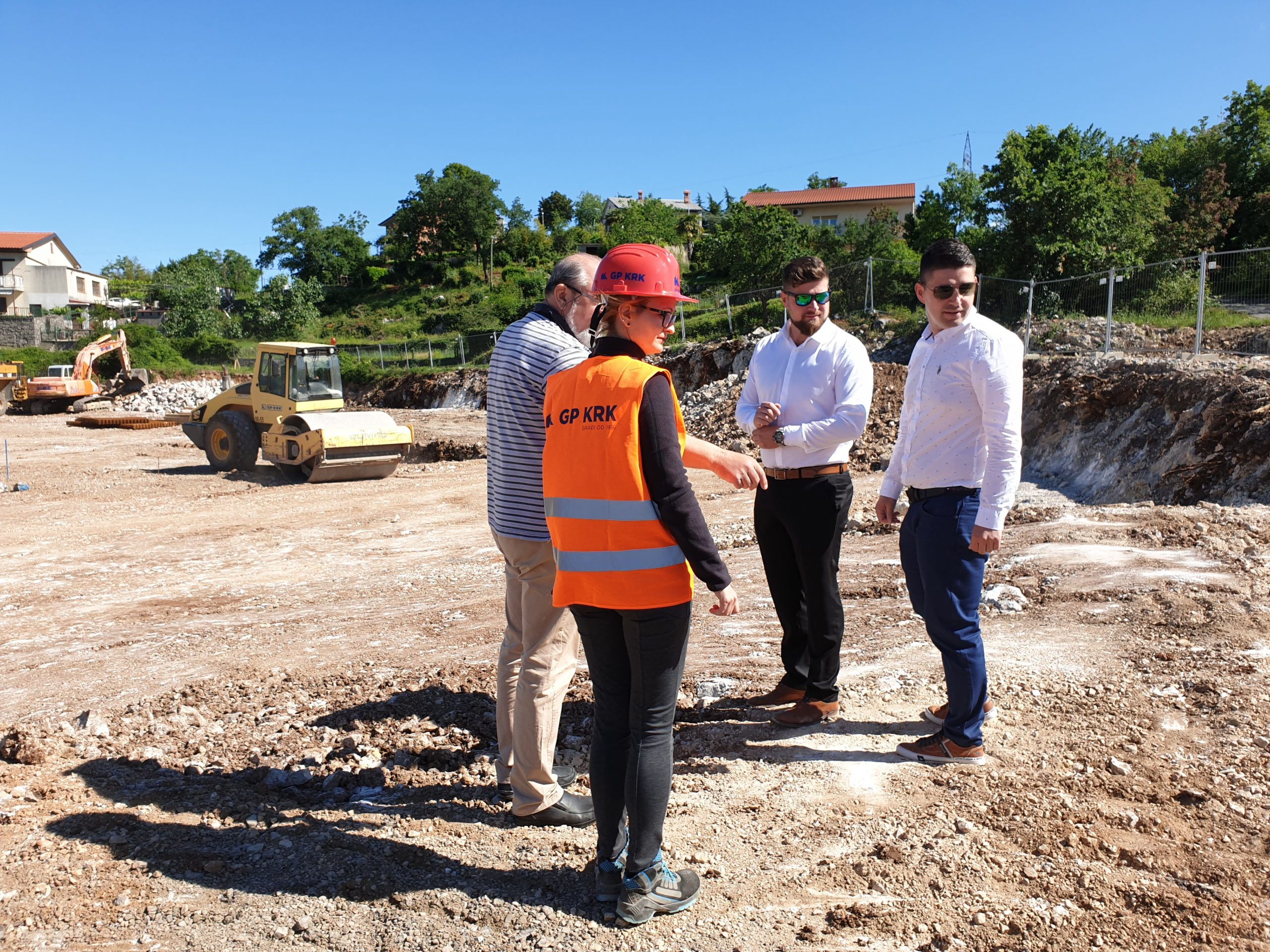 Gradilište Plodina obišao je gradonačelnik Mostarac