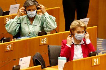 Plan Europske komisije za oporavak predstavljen je u Bruxellesu / REUTERS