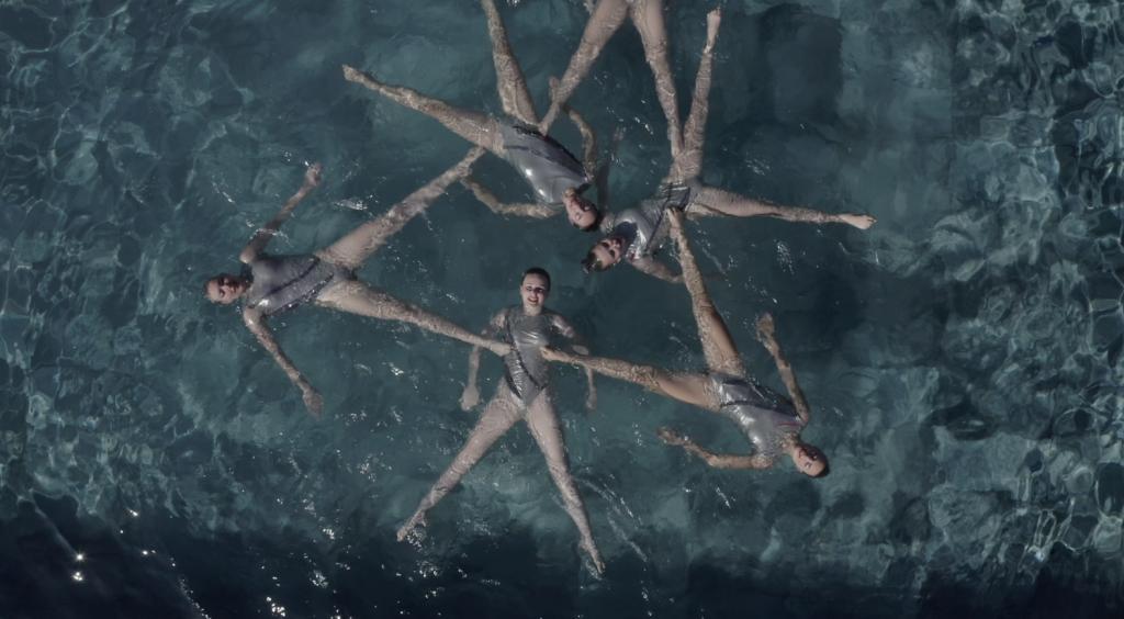Članice riječkog Kluba sinkroniziranog plivanja Primorje Aqua Maris