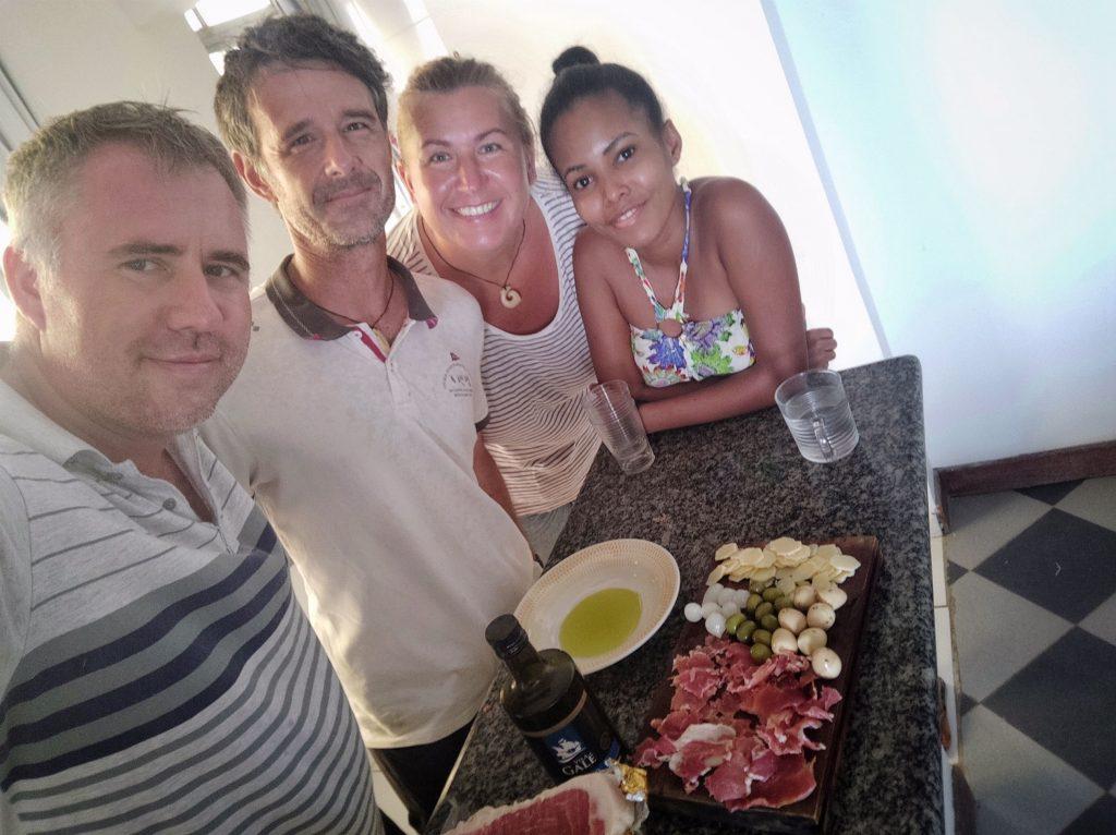 Fran i Lindiane Hržić - naši domaćini u Salvadoru