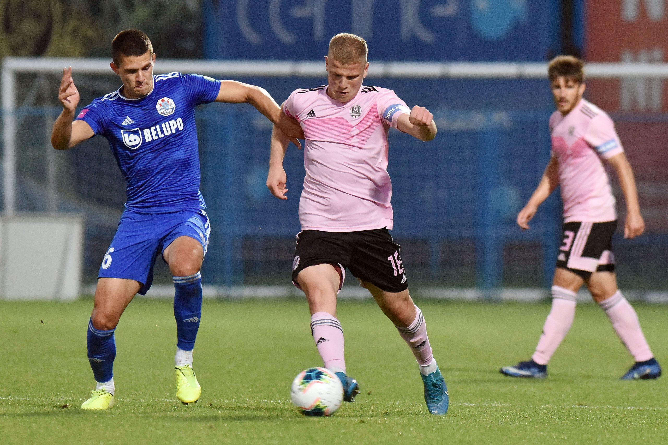 Karlo Lulić (Slaven Belupo) i Enis Čokaj (Lokomotiva)/Foto PIXSELL