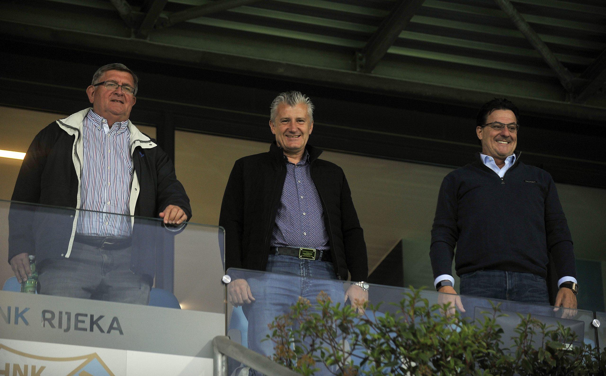 Vojko Obersnel, Davor Šuker i Damir Mišković/R. BRMALJ