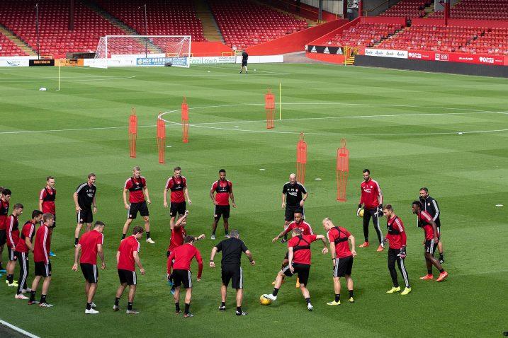 Posljednji trening Aberdeena uoči ogleda s Čihurom