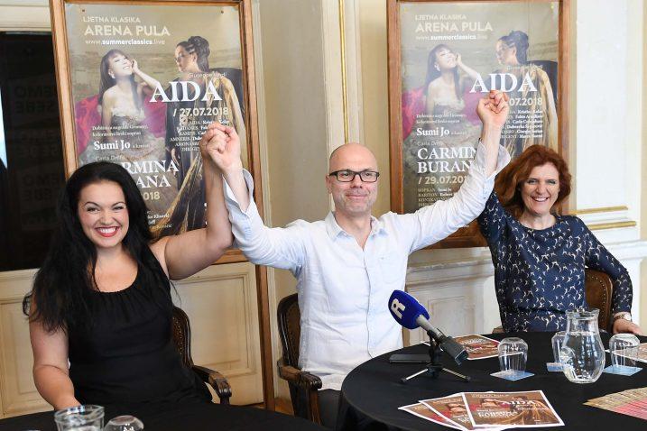Kristina Kolar, Marin Blažević i Dubravka Šeparović / Foto: I. TOMIĆ