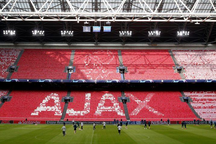 Tottenham na posljednjem treningu na Johan Cruyff Areni/Foto REUTERS