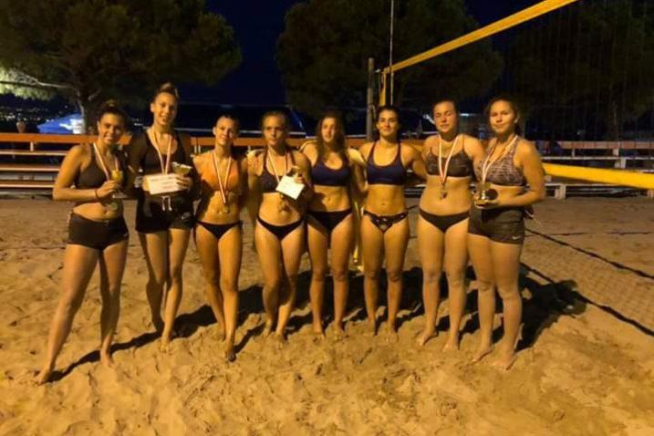 Finalistice turnira za mlađe uzrasne kategorije održanog na terenima u Ičićima