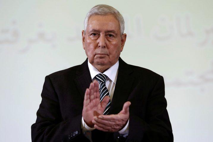 Abdelkader Bensalah / Foto: REUTERS