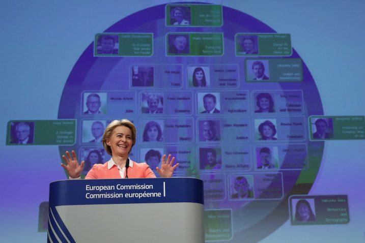 Ursula von der Leyen predstavila je novi sastav EK, a nekoliko kandidata za povjerenike očekuje žestok otpor tijekom saslušanja / Reuters