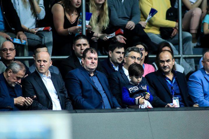 Milan Bandić, Branko Bačić, Andrej Plenković, Jakov Kitarović i Perica Bukić/S. MIDŽOR/PIXSELL