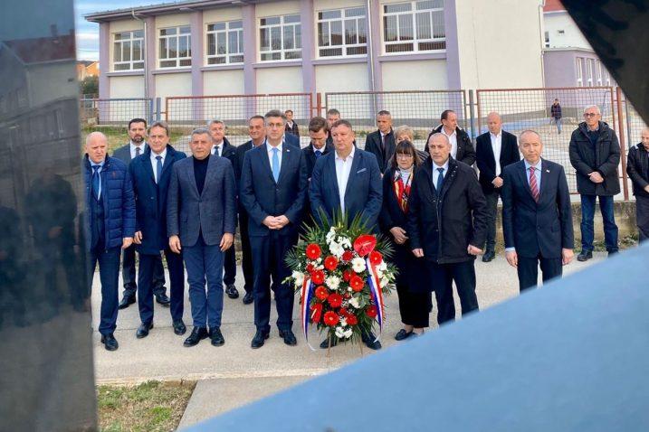 Gotovina i Plenković zajedno u Škabrnji