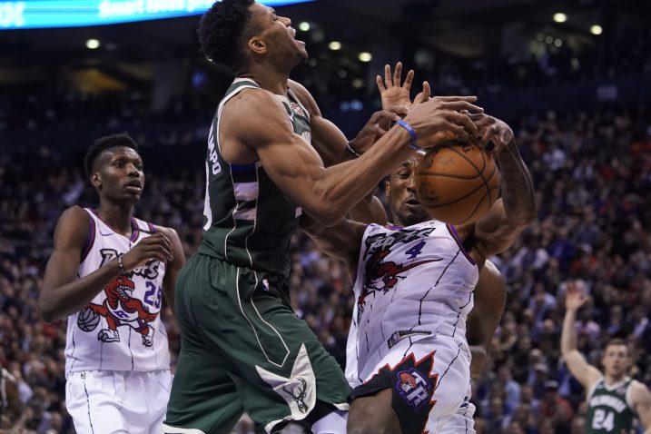 Giannis Antetokounmpo (Bucks)/Foto REUTERS