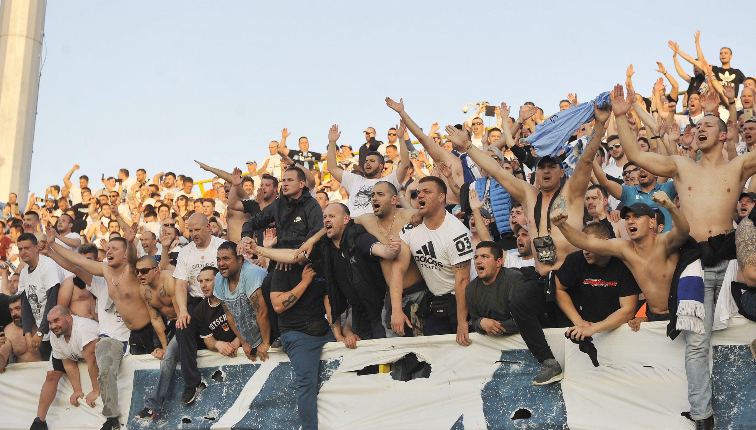 Armada će bodriti momčad isključivo na gostujućim utakmicama kao što je to nedavno bilo u Puli/Foto Arhiva NL