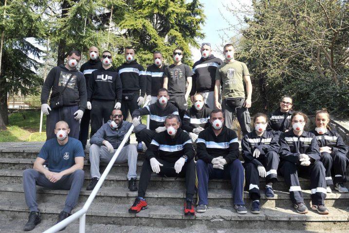 Članovi Armade nedavno su pomagali i u premještanju Studentskoga doma/Foto R. BRMALJ