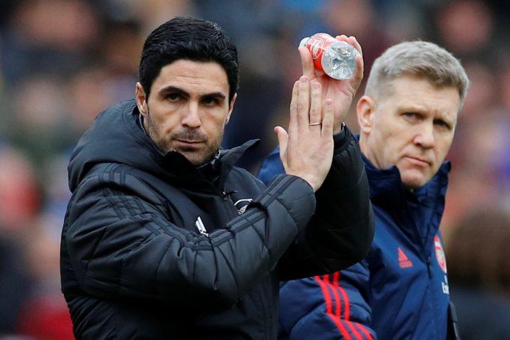 Mikel Arteta, trener Arsenala/Foto REUTERS