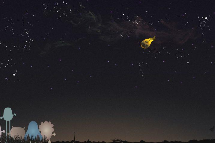 FOTO/NeedPix, Ilustracija komete
