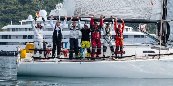 Posada austrijske jedrilice Vento Cadela sa skiperom Chritsianom Phannom
