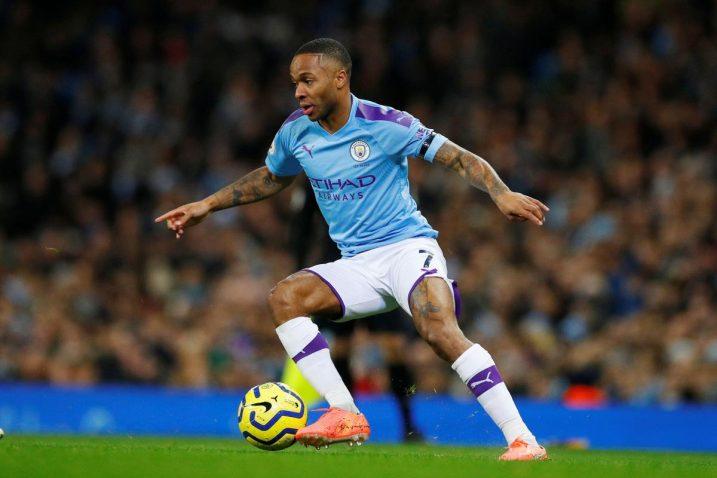 Navijač je rasistički vrijeđao napadača Manchester Cityja Raheema Sterlinga/Foto REUTERS