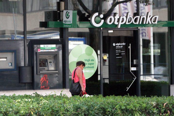 Ilustracija (ne prikazuje poslovnicu OTP banke u Vrlici) / Foto Ivana Ivanovic/PIXSELL