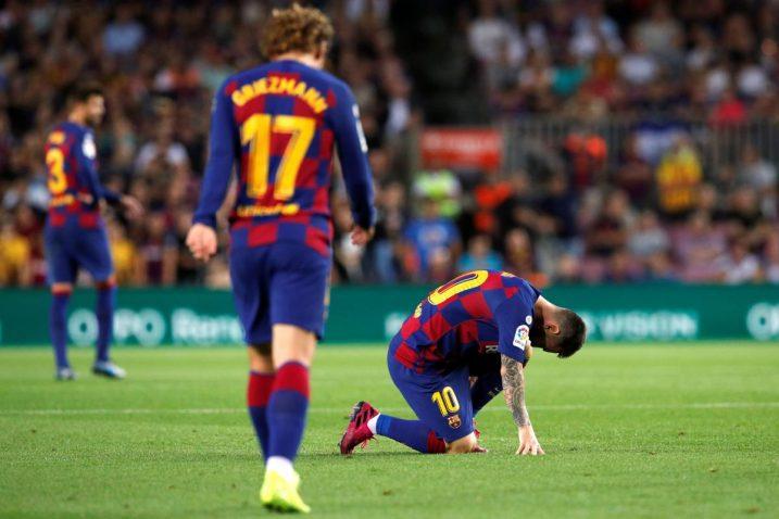 Nova ozljeda Messija/Foto Reuters