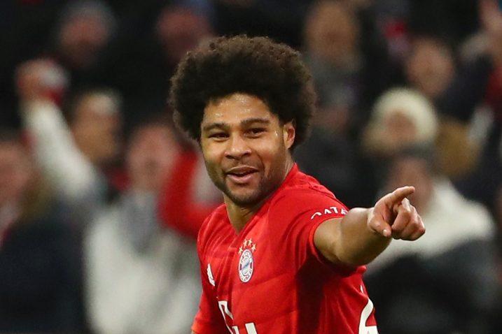 Serge Gnabry (Bayern)/Foto REUTERS