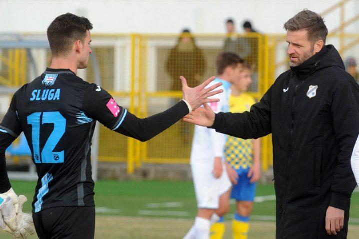 Simon Sluga i Igor Bišćan/Foto D. JELINEK
