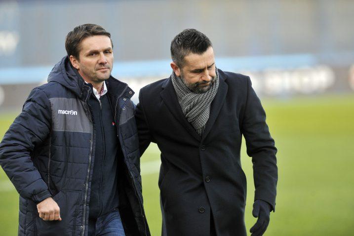 Siniša Oreščanin i Nenad Bjelica/Foto D. KOVAČEVIĆ