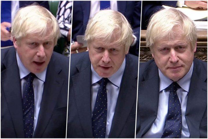 Foto Parliament TV via REUTERS