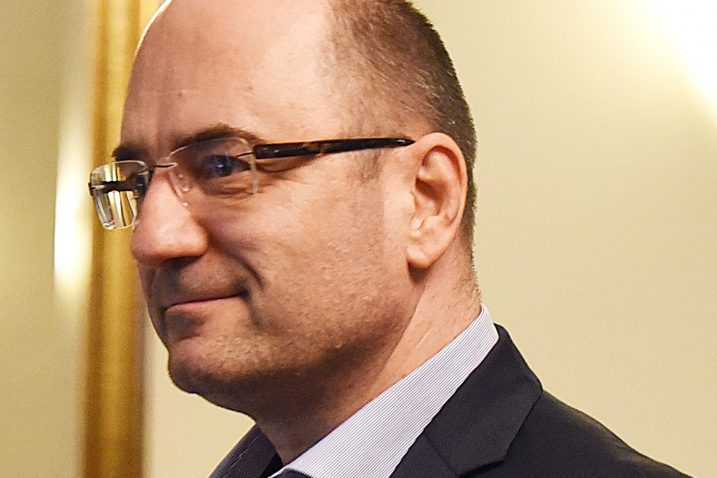 Komentirajući nagađanja da će napustiti HDZ, Brkić je poručio: »Nikada« / Snimio Denis LOVROVIĆ