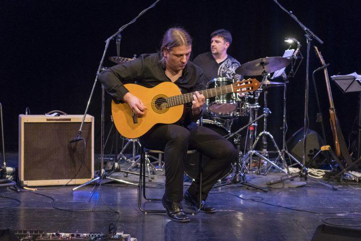 Bruno Mičetić sa svojim će kvintetom publici pokazati sve boje jazza / Foto Tvrtko UJEVIĆ