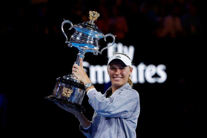 Caroline Wozniacki osvojila je 2018. godine svoj prvi Grand Slam naslov/Foto REUTERS